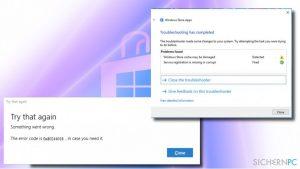 Wie behebt man den Windows Store-Fehler 0x80244018 unter Windows 10?