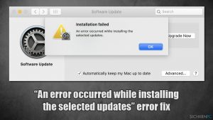 """Installation in macOS Big Sur fehlgeschlagen: """"Beim Installieren der ausgewählten Updates ist ein Fehler aufgetreten"""" - Wie behebt man den Fehler?"""