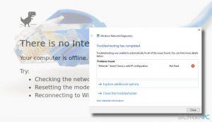 """Wie behebt man den Fehler """"Ethernet verfügt über keine gültige IP-Konfiguration""""?"""