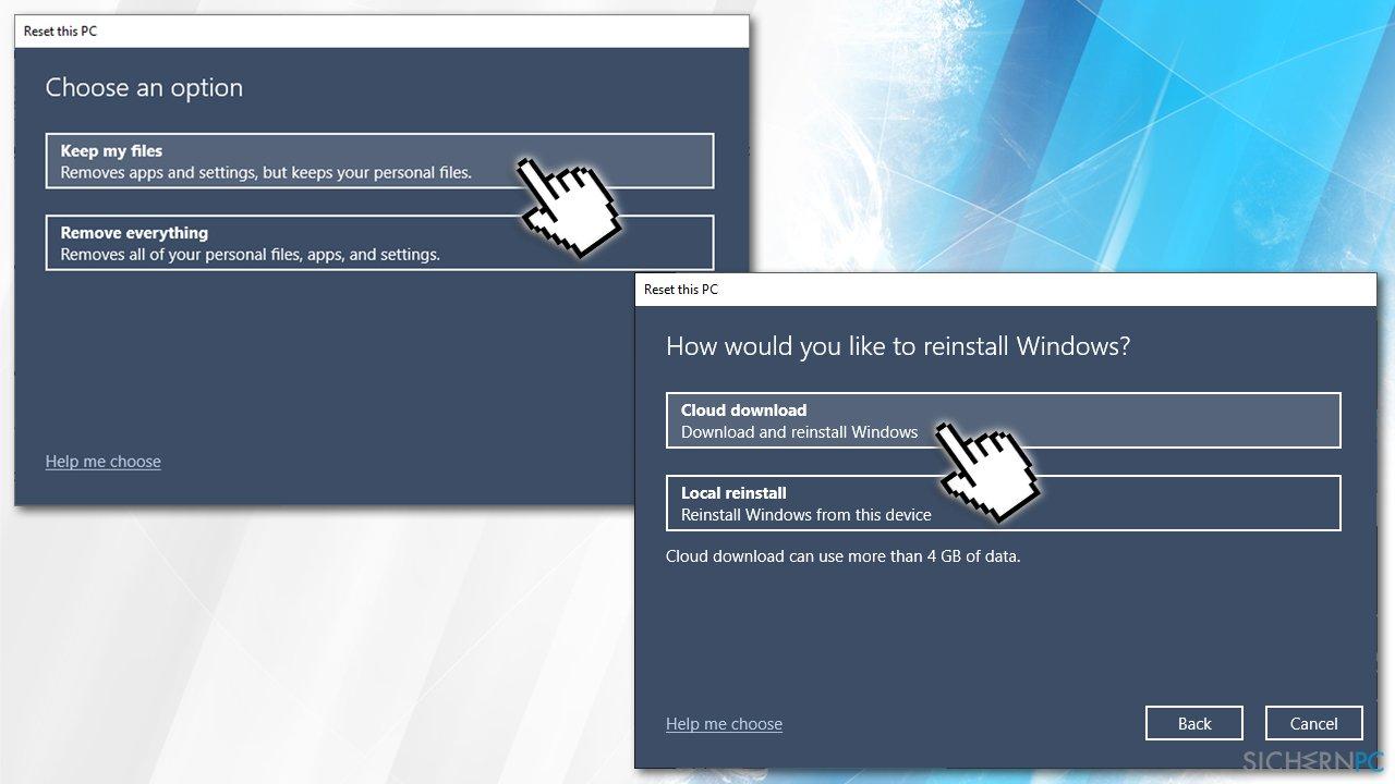 Reset Windows