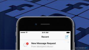 Wie findet man in Facebook die versteckten und gefilterten Nachrichtenanfragen?