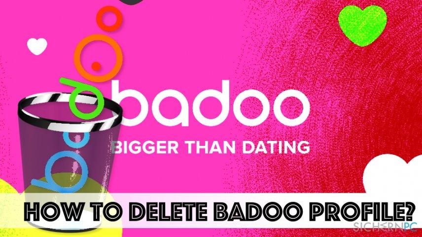 Anleitung für das Löschen des Badoo-Profils