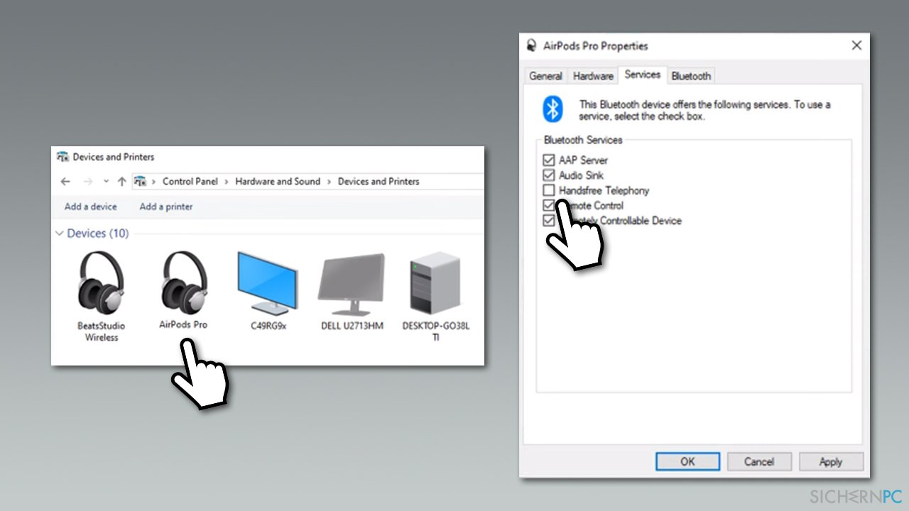 How to fix bad sound quality of Airpods Pro on Windows?