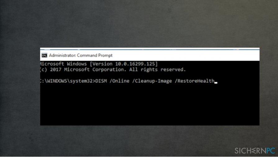Fix Error 0x80080008 via command prompt