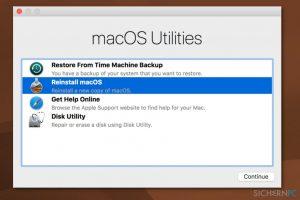 """Wie behebt man auf dem Mac den Fehler """"Error code 5010F""""?"""