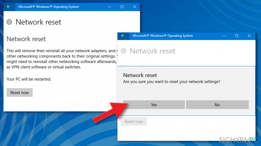 "How to fix ""There might be a problem with the driver for the Ethernet adapter"" error on Windows?"