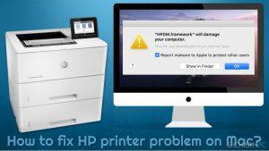 Wie behebt man auf dem Mac Probleme mit dem HP-Drucker?