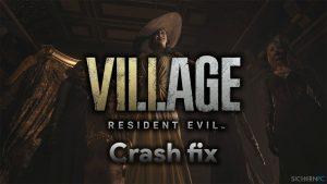 Wie behebt man Abstürze mit schwarzem Bildschirm in Resident Evil Village auf Steam?