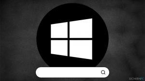 Wie behebt man eine nicht funktionierende Suchleiste in Windows 10?