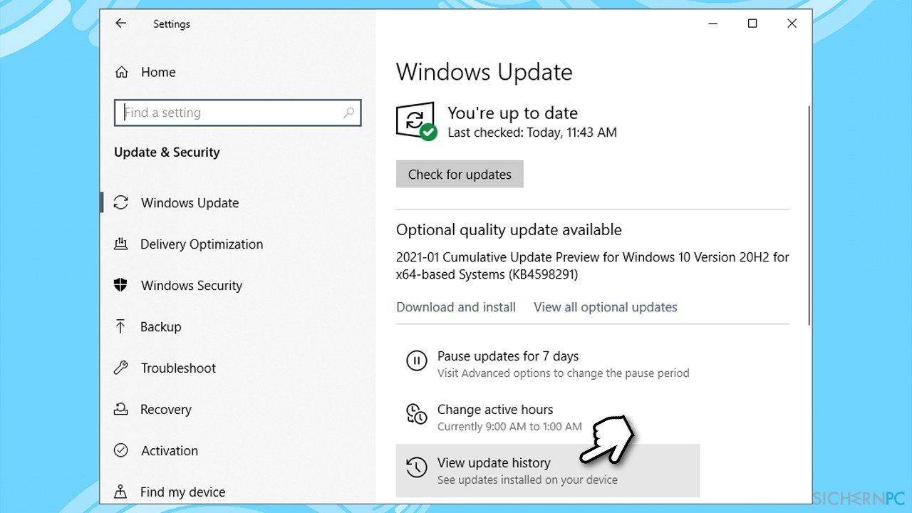 How to fix Windows Update error 0x80242016?