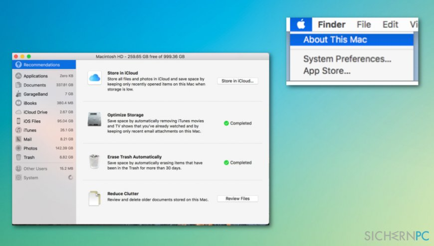 """How to fix """"Your startup disk is almost full"""" error?"""