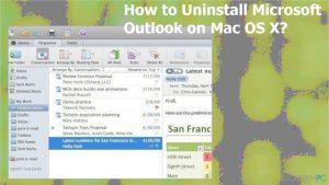 So deinstalliert man Microsoft Outlook auf Mac OS X