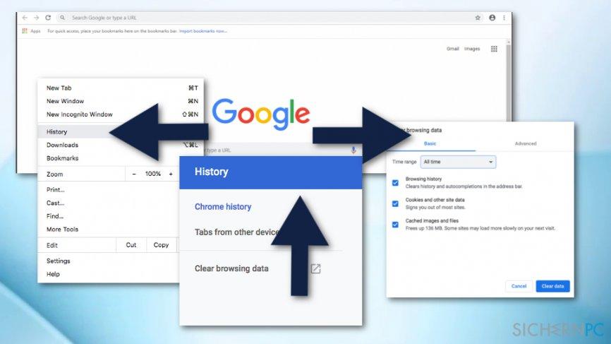 Get rid of ERR_NETWORK_CHANGED error on Chrome