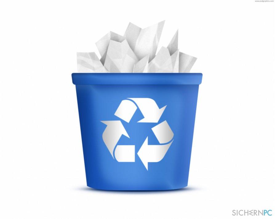 files after emptying Recycle Bin-Screenshot