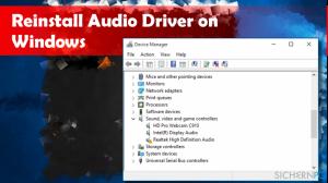 Wie installiert man Soundtreiber unter Windows 10 neu?