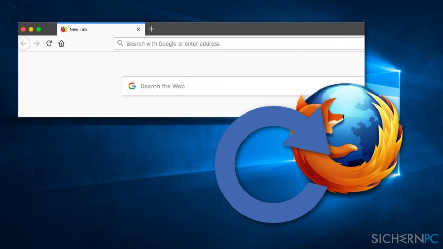 """Fix """"Our systems have detected unusual traffic from your computer network"""" error by resetting Mozilla Firefox"""