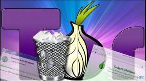 Wie deinstalliert man den Tor-Browser?