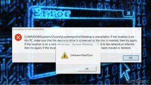 """Wie behebt man in Windows 10 """"Unknown Hard Error""""?"""