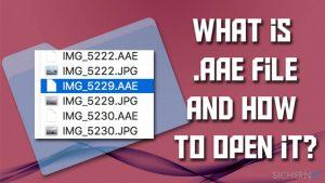 Was sind .AAE-Dateien und sollte man sie löschen?