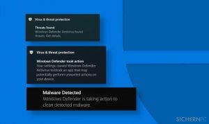 Windows Defender erkennt wiederholt dieselbe Bedrohung? So lässt sich das beheben