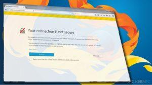 """Wie behebt man in Mozilla Firefox den SSL-Fehler """"Diese Verbindung ist nicht sicher""""?"""